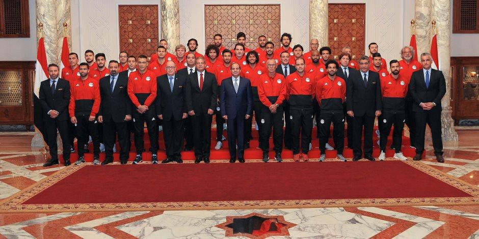 لو حضر السيسي مباراة مصر وأوروجواي.. أين يجلس الرئيس باستاد يكاتيرنبورج؟ (فيديو)   صوت الأمة