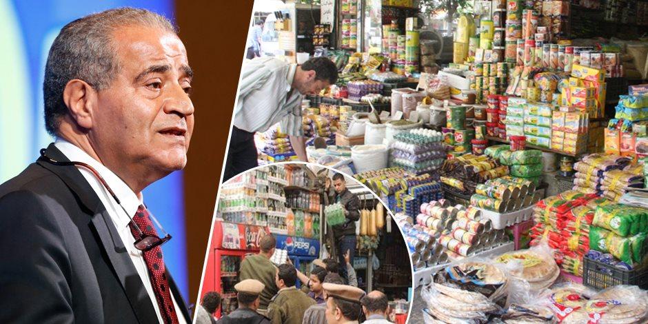 وزير التموين «يقلب الترابيزة» على حرامية السلع التموينية والبترولية   صوت الأمة