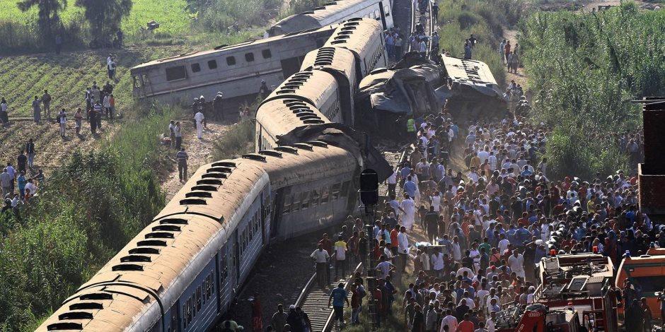 5 أسئلة هامة عن حوادث القطارات وأسباب تكرارها.. هكذا نحمي سكك حديد مصر   صوت الأمة