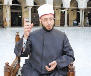 """في أول صلاة جمعة بالمسجد.. """" الأزهري"""" يبعث بأربع رسائل للعالم من """"الفتاح العليم"""""""