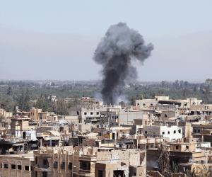 وصول وفد من المراقبين الروس لدرعا السورية لتطبيق اتفاق وقف إطلاق النار