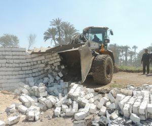 انضمام القليوبية والمنيا إلى حملة إزالة تعديات نهر النيل