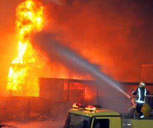 اندلاع حريق بشقة سكنية وإصابة مالكها في بولاق الدكرور