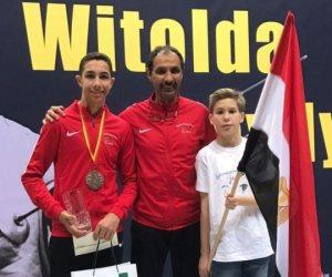 المصري محمد حمزة يتوج بالميدالية الذهبية للبطولة الأفريقية للسلاح