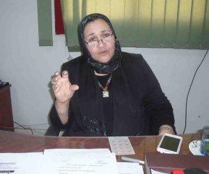 نائبة الصعيد تناشد السيسي بالقضاء على البطالة في الصعيد