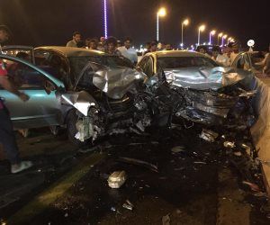 إصابة 9 أشخاص بينهم 6 سياح هولنديين في حادث تصادم بالغردقة