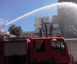مصرع طفل فى حريق بشقة سكنية بالمقطم