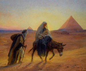 """""""قُمْ وَخُذِ الصَّبِيَّ وَأُمَّهُ وَاهْرُبْ إِلَى مِصْرَ"""".. السر الأعظم لاحتضان أم الدنيا مسار العائلة المقدسة (صور)"""