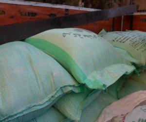 ضبط 262 طن دقيق مدعم قبل بيعها في السوق السوداء بالإسكندرية