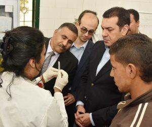 نائب بكفر الشيخ: استمرار القافلة الطبية بدسوق واجراء الكشف والتحاليل ل 1528 مواطناً
