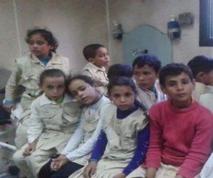 حملة قومية للقضاء على الطفيليات المعوية لتلاميذ الابتدائية بشمال سيناء
