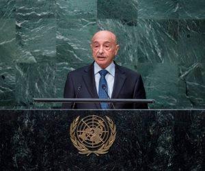 رئيس مجلس النواب الليبي يهنئ الجيش باستعادة موانئ الهلال النفطي