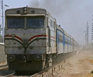 مصرع متسول تحت عجلات القطار بالعياط