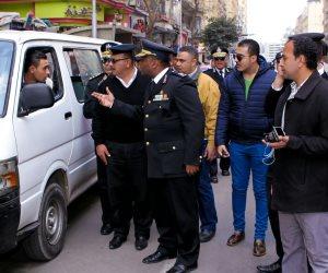 رفع 398 حالة إشغال طريق في حملة مرافق بالجيزة