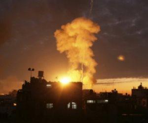 طائرات إسرائيلية تشن غارة جوية على قطاع غزة