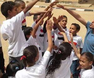 قومي المرأة يبدأ النشاط رياضي لطلاب مدارس أسوان