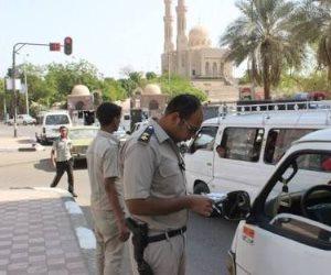 ضبط 79 سيارة ودراجة نارية وتنفيذ 3402 حكما قضائيا في حملة أمنية بالغربية