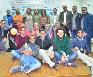 مسابقة مختبر الشهرة في جامعة السويس لتشجيع شباب العلماء