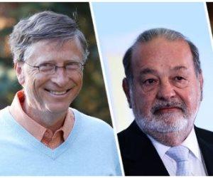 أغنى 10 رجال في العالم.. بيل جيتس يواصل تصدره و«سليم» بالمرتبة السادسة