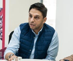مدير تعاقدات الأهلي ومحمد فاروق يصوتان في عمومية اللائحه