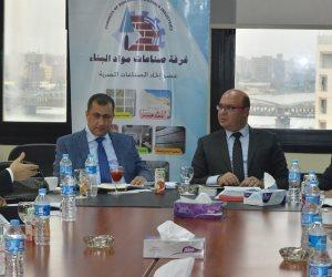 """البناء"""" تبحث مع وفد نقابة مصانع الرخام اللبنانية تذليل عقبات التجارة"""