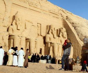 داخل «قدس الأقداس».. هكذا تستعد «الآثار» لاحتفالية تعامد الشمس على وجه رمسيس