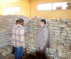 ضبط 27 طن أرز و 3000 لتر سولار مدعم خلال حملة تموينية بالبحيرة