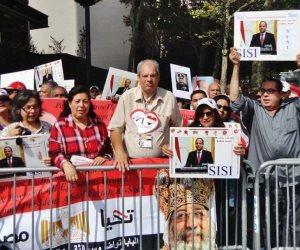 بـ«الأعلام المصرية».. أقباط المهجر يستعدون للاحتفاء بـ«السيسي» أمام البيت الأبيض 3 أبريل