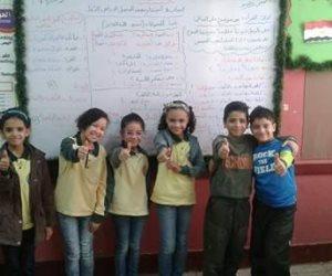 تحت تهديدهم بالأسلحة البيضاء.. مدرسة بالمعادي تطرد 500 طالب (صور)