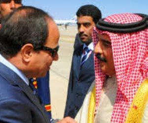 مباحثات ثنائية بين السيسى وملك البحرين