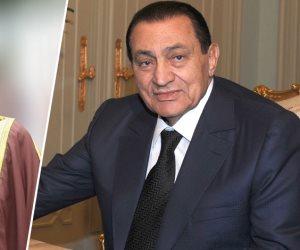 تفاصيل زيارة ملك البحرين لمبارك في منزله