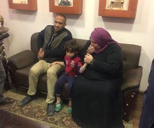 عامل نظافة يخطف نجل ابن خالته ويطلب فديه لتسليمه بمنشأة ناصر