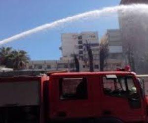 الحماية المدنية تسيطر على حريق في مشروعات «أوراسكوم» بأكتوبر