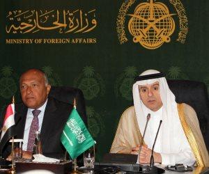 «شكري»: علاقتنا مع السعودية راسخة.. ويربطنا بالشعب الإيراني صلة تاريخية