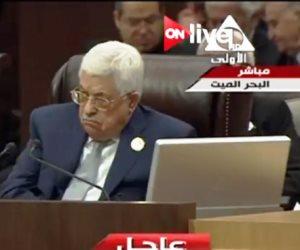 الرئيس الفلسطيني: لن نقبل إلا بوساطة دولية