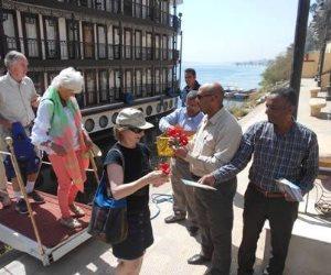 وصول 120 سائحا إنجليزيا لزيارة منطقة أبيدوس الأثرية في سوهاج