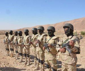 رئيس تدريب القوات المسلحة: النجم الساطع تضمن تدريب تطهير قرية حدودية