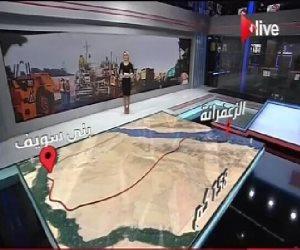 ON Live ترصد بأحدث تقنيات الـ3D مشاريع مصر القومية منذ يوليو 2014.. 4350 مشروع تكلفتهم 421 مليار جنيه.. 960 ألف مريض فيروس «سي» تم شفائهم بنهاية 2016.. 764 مشروع لوزارة الإسكان 498 مشروع لقطاع الري