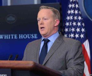 استقالة المتحدث باسم البيت الأبيض شون سبايسر