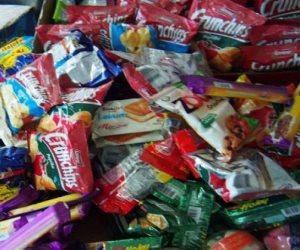 ضبط 60 كيلو حلوى بدون بيانات في مصنع غير مرخص بأسيوط