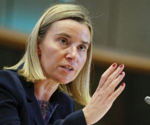 ماذا قالت موجريني عن دعم الاتحاد الأوروبي لمفاوضات جنيف بشأن سوريا؟
