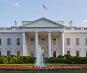 أشجار الكريسماس تزين البيت الأبيض