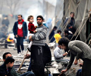 مفوضية اللاجئين: تسمم النازحون الجماعي بمخيم الخازر مأساوي