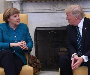 معركة من نوع خاص داخل الناتو.. من ينتصر ترامب أم ميركل؟