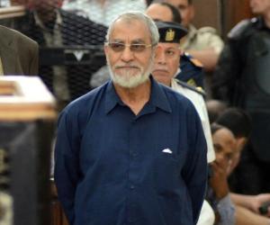 الجنايات تؤجل محاكمة بديع و738 متهما بـ«فض اعتصام رابعة» لـ 22 مايو