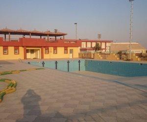 الأهلي يفتتح مجمع حمامات السباحة بفرع زايد