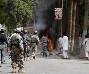 مقتل 23 من إرهابيى داعش فى غارات بطائرات بدون طيار شرق أفغانستان