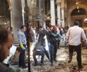 الداخلية تكشف هوية منفذ تفجير كنيسة طنطا: حاصل على ليسانس آداب