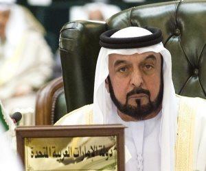 خليفة بن زايد آل نهيان يعزي الملك سلمان في وفاة الأمير منصور بن مقرن