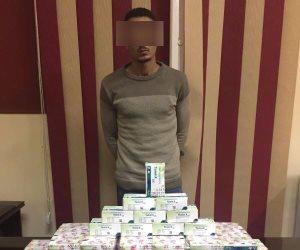 القبض على مسجل خطر بحوزته كمية كبيرة من الأقراص المخدرة بقصر النيل